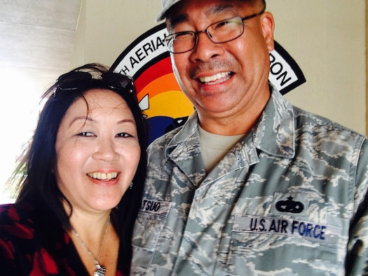 A week after they married, an Air Force Reserve couple attended a Yellow Ribbon Reintegration Program training weekend here due to the husband's upcoming deployment.