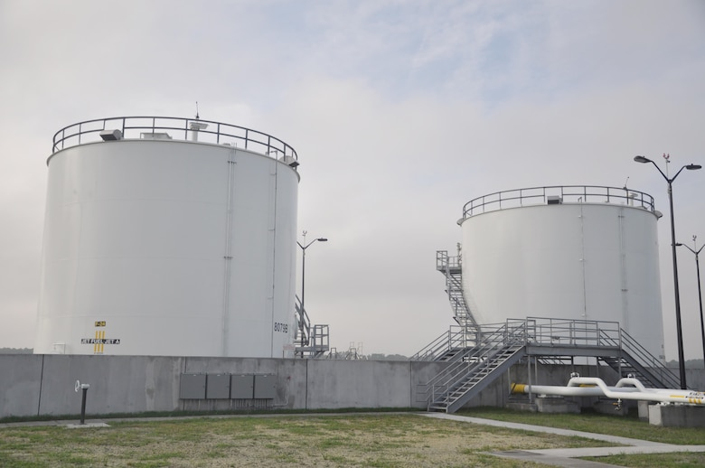 Fuel Island at Hunter Army Airfield pictured Sept. 27, 2016 during a final inspection. The site now hosts the 21st century standard for fuel systems after about $13 million in infrastructure improvements and construction work.