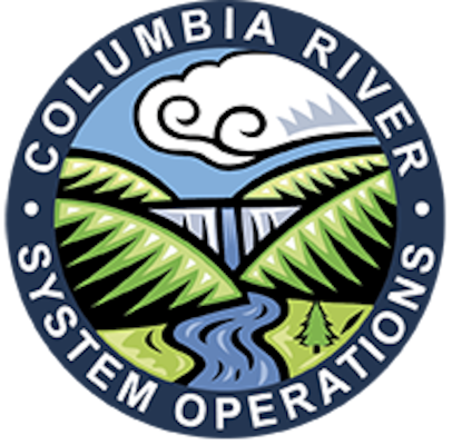 Columbia River System Operations logo. In accordance with the National Environmental Policy Act, the U.S. Army Corps of Engineers, Bureau of Reclamation, and Bonneville Power Administration, referred to as the Action Agencies, intend to prepare an environmental impact statement (EIS) on the Columbia River System operations and configurations for 14 federal projects in the interior Columbia Basin.