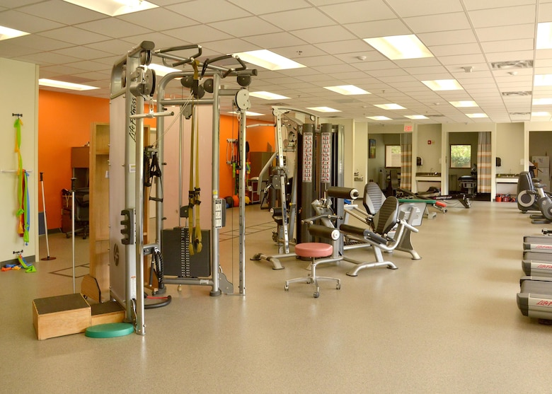 The 377th Medical Groupu0027s Newly Renovated Physical Therapy Clinic Sports  More Space For Patients, Several