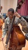 Technical Sgt. Victor Holmes Jr. joined the Concert Band as a Bassist in February 2016.