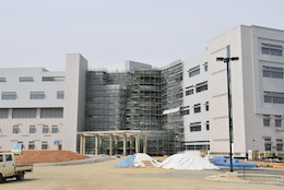 The current status of the hospital captured Mar. 29. (Photo by Antwaun J. Parrish)