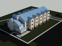 Artist's rendition of the new dormitory.