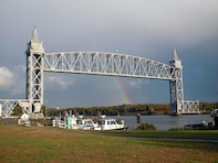 The Cape Cod Canal Railroad Bridge is operated and maintained by the New England District.