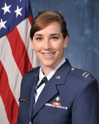 Capt. Natasha Trozzolo is the 10th Medical Group's audiologist at the U.S. Air Force Academy. (U.S. Air Force photo)