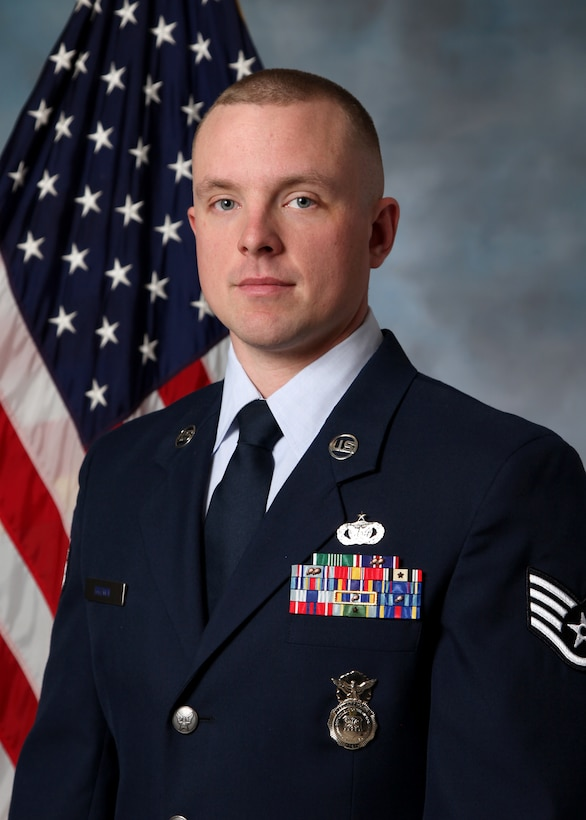 Staff Sgt. Christopher J. Brown, 377th Weapons System Security Squadron was named 20th Air Force's Security Forces Flight-Level NCO of the Year