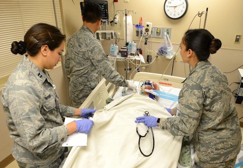 Luke medical personnel engage in simulated training > Luke Air Force ...