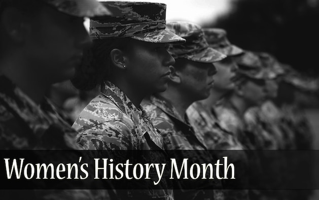The month of March is Women's History Month. Although the month has come and gone, the women of Seymour Johnson Air Force Base, North Carolina, continue to come together throughout the year. (U.S. Air Force photo by Samuel King Jr./ Edits by Amn Shawna L. Keyes)