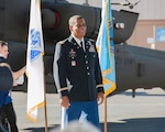 Army Chief Warrant Officer 5 Artis Payton smiles as he's honored during his Feb. 8 retirement ceremony in Mesa, Arizona. Payton finished his 40-year Army career as an AH-64E helicopter pilot assigned to Defense Contract Management Agency Boeing Mesa. (Boeing photo by Michael Goettings) 