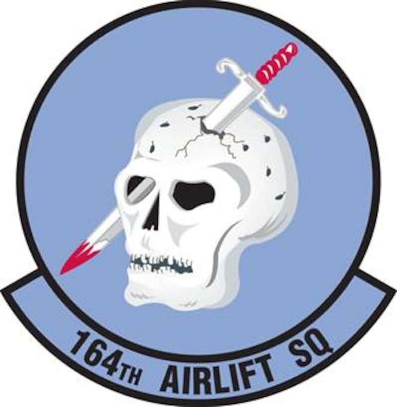 Original 164th Airlift Squadron patch design