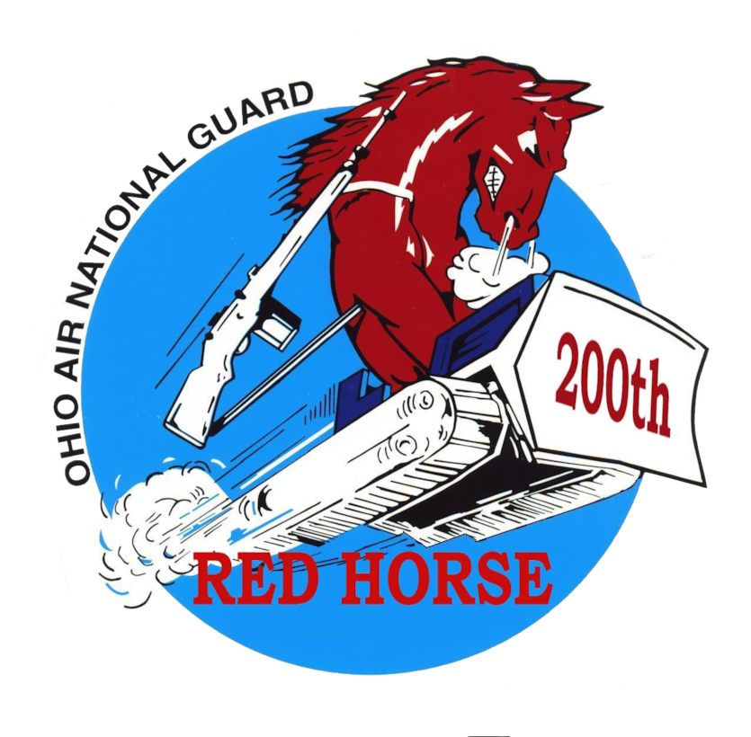 Official 200th RED HORSE logo