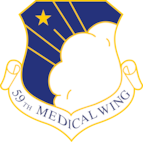 59th Medical Wing; PNG optimized for print.