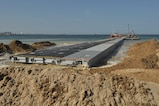 The first section of the 331st Transportation Company's Trident Pier eases into position along Dogu Beach near the South Korean port city of Pohang, April 7, 2017 in preparation of Operation Pacific Reach Exercise 2017. The pier will serve as a disembarkation point for ship-to-shore operations during the combined Republic of Korea – U.S. exercise. Also known as OPRex17, the exercise is a bilateral training event designed to ensure readiness and sustain the capabilities which strengthen the ROK-U.S. alliance.