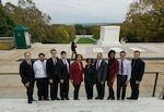 Defense Production Act Title III Office Lays Wreath at Arlington