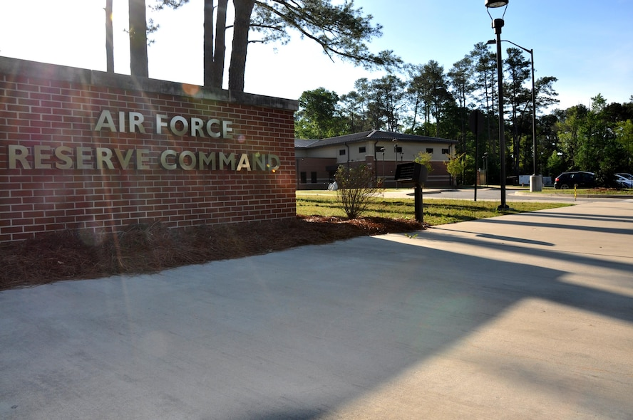 The initial movement of Air Force Reserve Command personnel to the AFRC Consolidated Mission Complex took place April 6 when Reserve Citizen Airmen of the Force Generation Center moved into Building 554 here. The building  at 693 Lakeside Circle is a 22,000 square foot facility initially constructed in December 2012 as the AFRC Deployment Readiness and Training Center. (U.S. Air Force photo by Philip Rhodes)