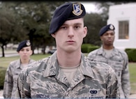 """Senior Airmen Jonathon Bridger, 902nd Security Forces Squadron, Joint Base San Antonio, Texas, was featured in the Profession of Arms Center of Excellence's latest Heritage Today video, """"Defenders"""" which was released this week. The Heritage Today video series is designed to inspire Airmen through stories of Air Force heritage linked to current real-world Air Force operations."""