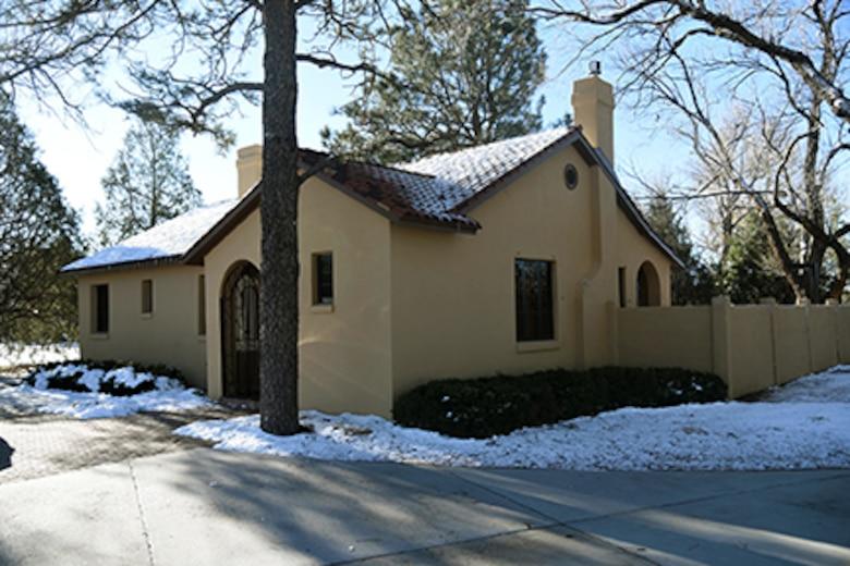 The Spanish House serves as an office,