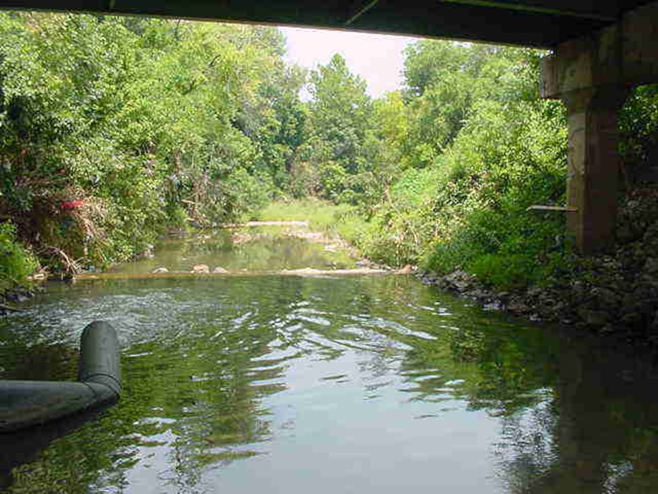 The approach to Coldwater Creek is to first eliminate the sources of contamination. The U.S. Army Corps of Engineers is currently remediating properties adjacent to CWC from upstream to downstream.
