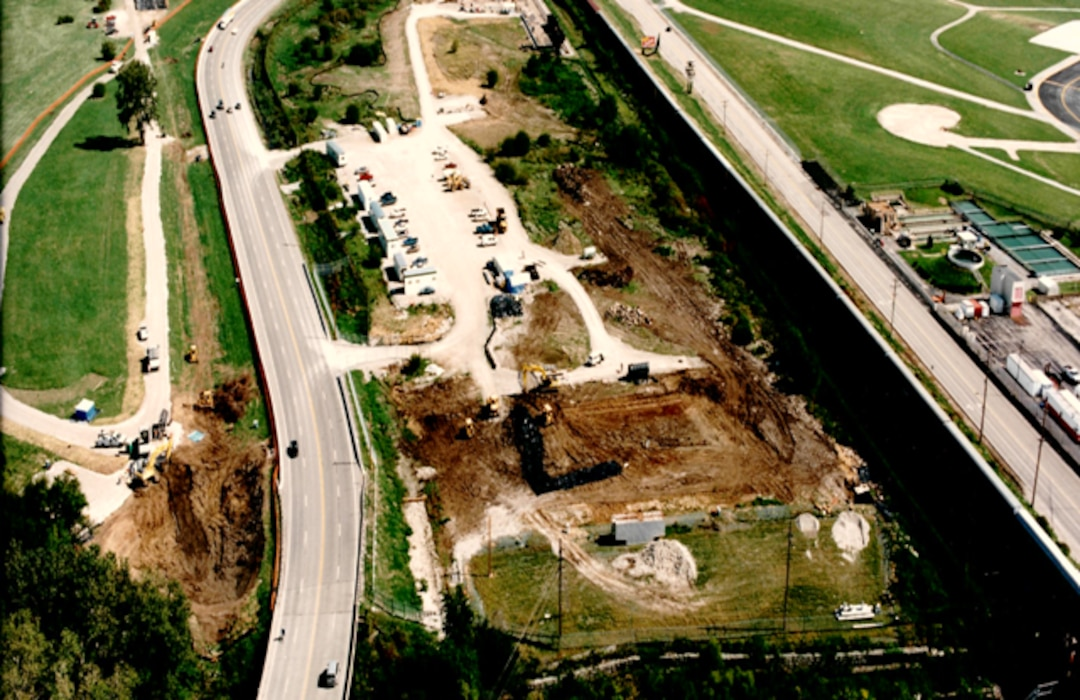 Approximately 15 miles from downtown St. Louis, the St. Louis Airport Project Site is immediately north of St. Louis Lambert International Airport and is bounded by the Norfolk and Western Railroad and Banshee Road on the south, Coldwater Creek on the west, and McDonnell Boulevard and adjacent recreational fields on the north and east.