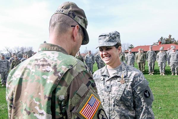 Life Saving Efforts Earn Iowa National Guard Soldier Medal Of Merit
