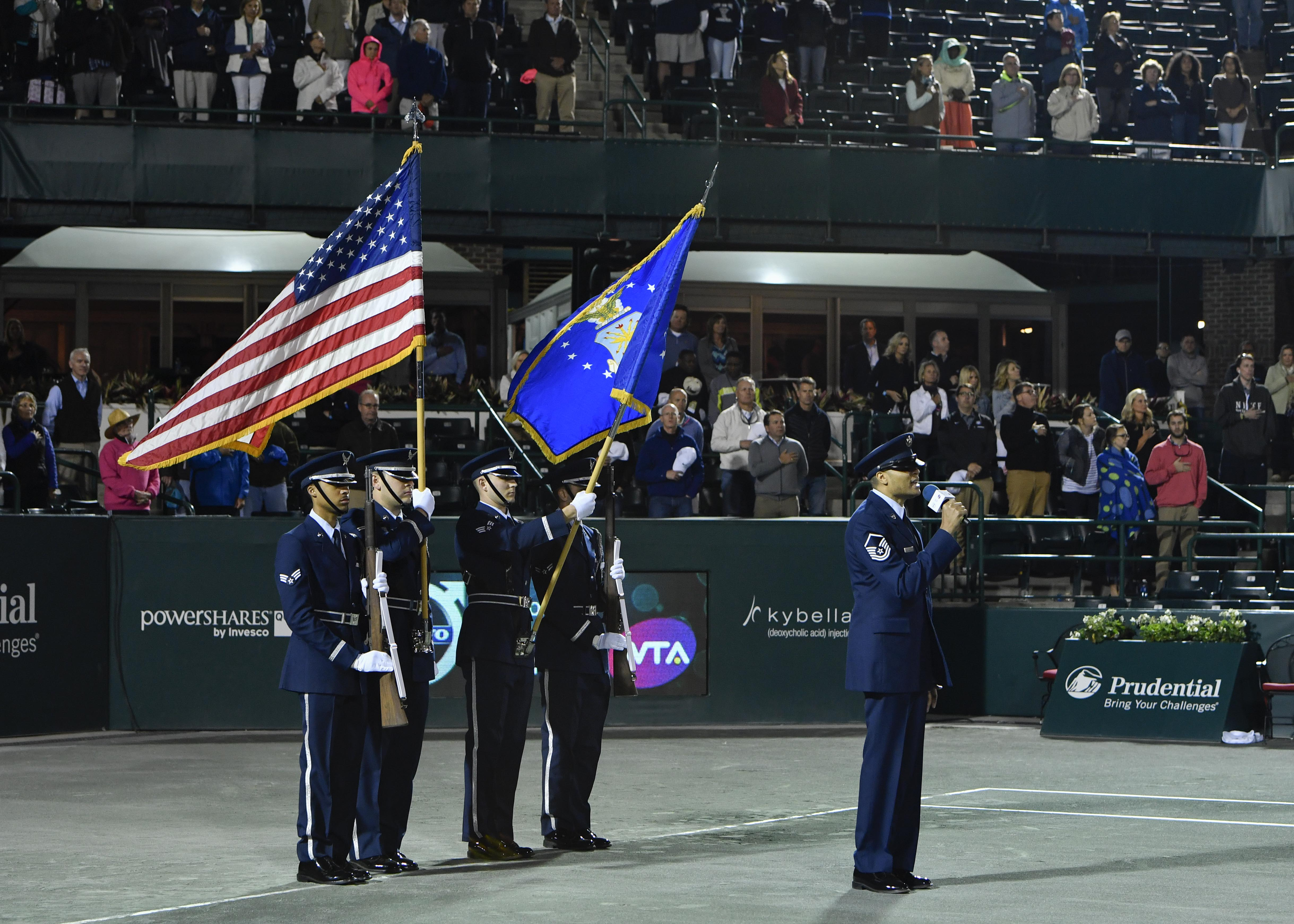 Volvo Car Open Hosts Military Appreciation Night