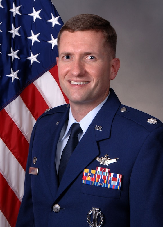Lt. Col. Casey Beard, 1st Space Operations Squadron commander. (Courtesy photo)