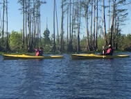 The 125th Fighter Wing Chaplain Corp kayaked the Okefenokee Swamp in Georgia as part of a leadership and team building exercise.