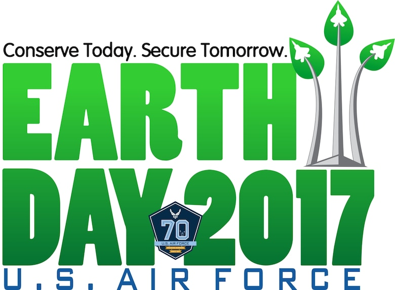 AFCEC 2017 EARTH DAY graphic