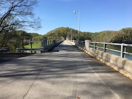 The U.S. Army Corps of Engineers Nashville District announces Dale Hollow Dam Road at the dam in Celina, Tenn., is closing 8 a.m. April 25 through 4 p.m. April 28, 2017 due to scheduled maintenance to inspect the spillway gates and trunnions.