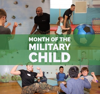 Marines from 9th Marine Corps District headquartered aboard Naval Station Great Lakes gave back to the community through a mini boot camp for Red Oak Elementary School children. April is recognized as Month of the Military Child to underscore the important role that children play in the Armed Forces.