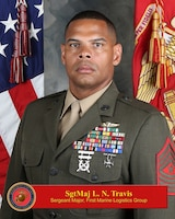 Sergeant Major, 1st Marine Logistics Group