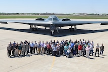 B-2A, serial #88-0331, 'Spirit of South Carolina' of the 509th bomb Wing, Air Force Global Strike Command, on the parking ramp at Tinker Air Force Base, Oklahoma, during a visit April 11, 2017. The B-2A 'stealth bomber' visited the base to allow hundreds of personnel who work in direct support of the aircraft program through continuous software upgrades to see it in person and better understand the aircrafts' role in the nation's defense. (U.S. Air Force photo/Greg L. Davis)