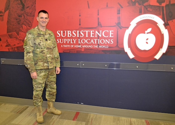 Army Lt. Col. Michael Hansen is a veterinarian and chief of the DLA Troop Support Subsistence supply chain Food Safety Office.