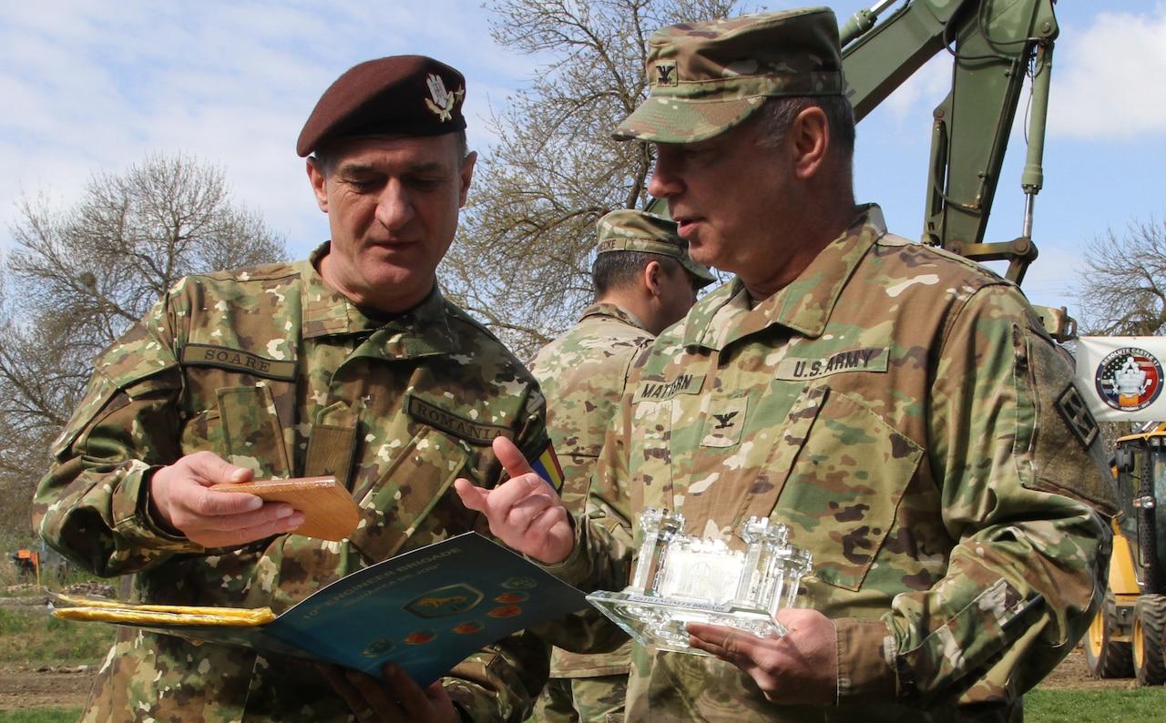 Resolute Castle 2017 Exercise Opens in Romania > U S