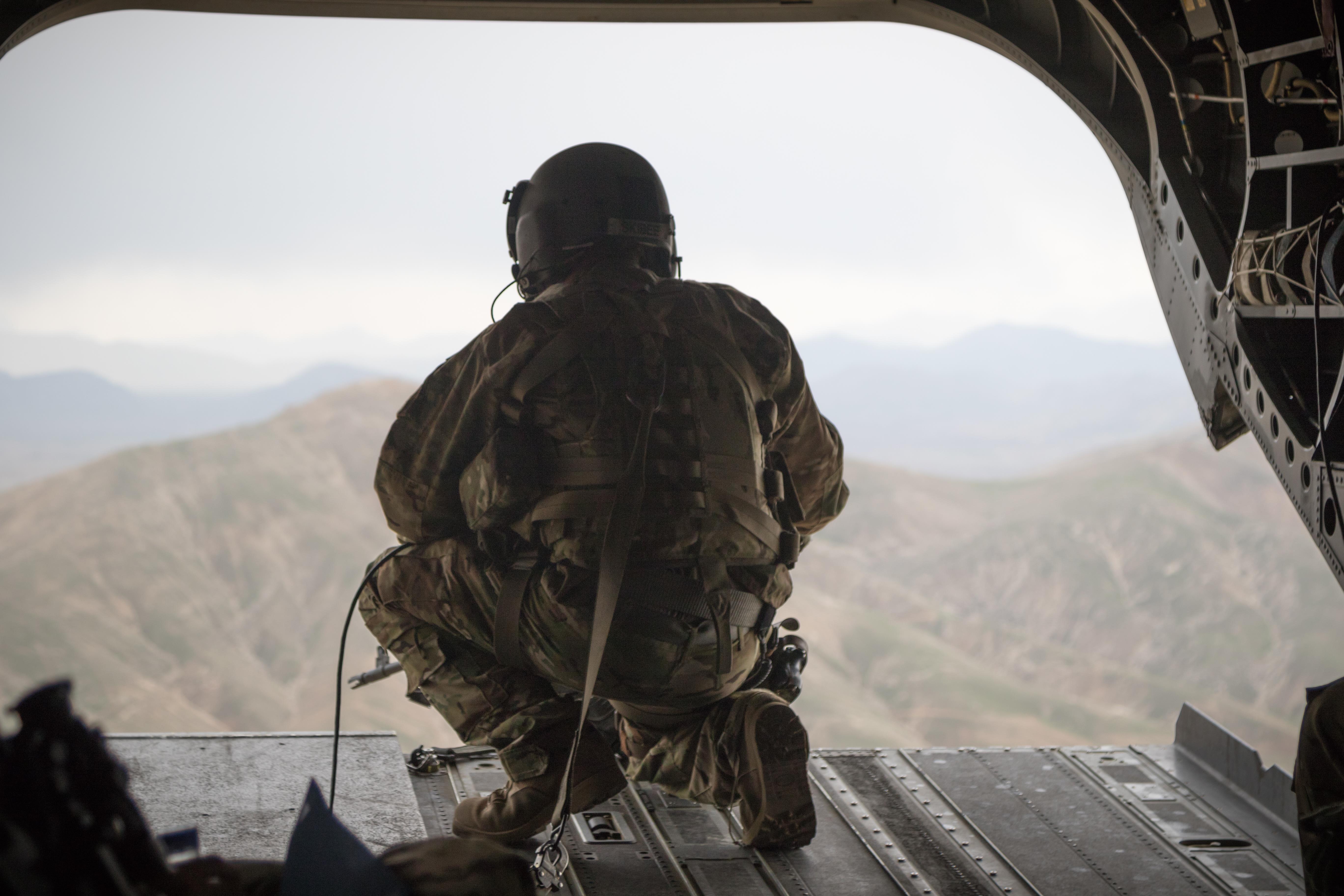 Task Force Flying Dragons Aviators Fly to Operating Base Fenty