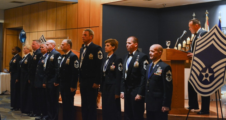 The Florida Air National Guard held a chief's induction ceremony for all new chiefs on April 10, 2017 at Tyndall AFB, Florida.