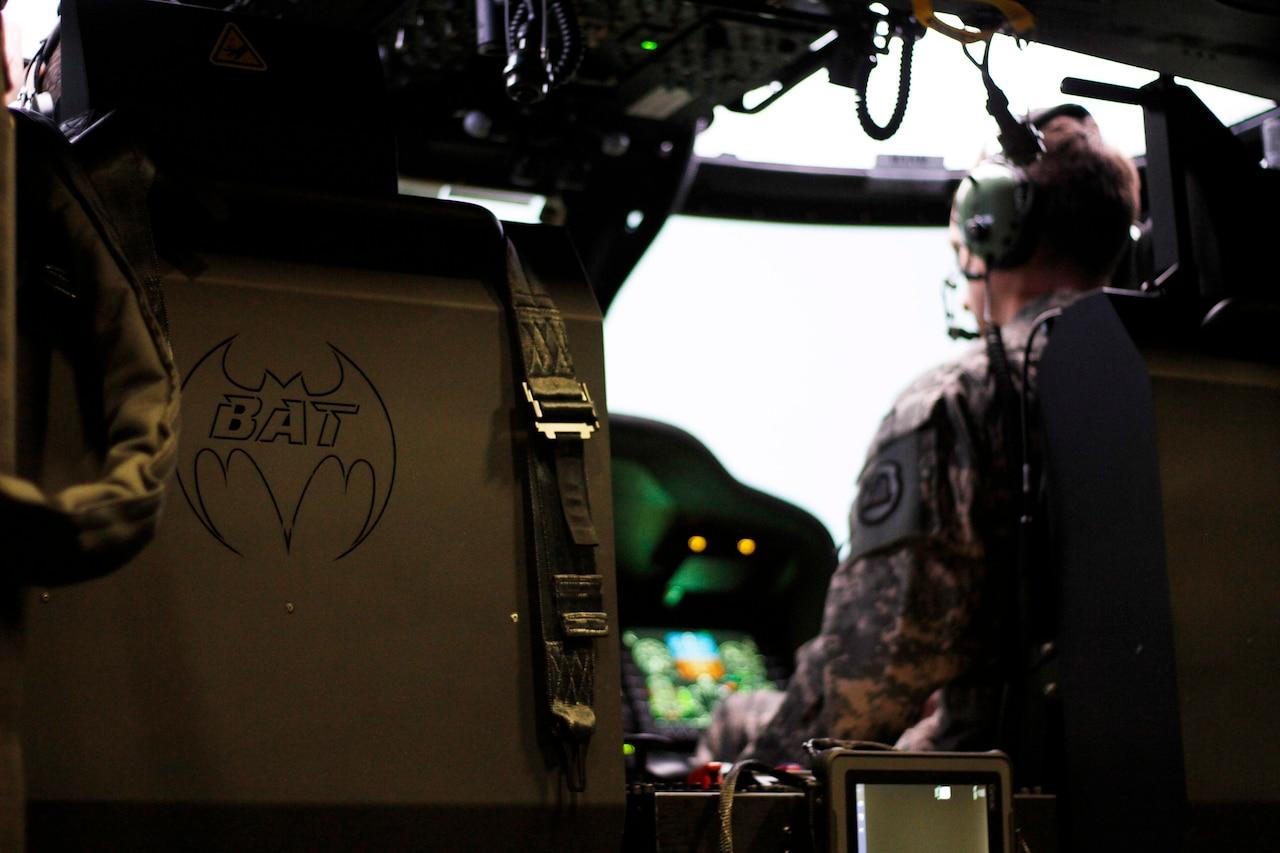BAT' Trainer Modernizes Helicopter Simulator Flying > U S