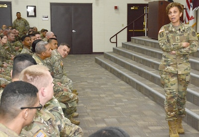 Army Surgeon General Speaks At Professional Development