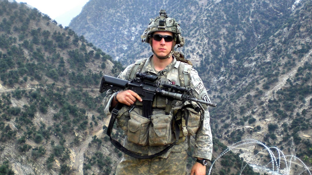 Army Staff Sgt. Ryan Pitts joined the Army in 2003 at age 17. He deployed twice to Afghanistan. His first deployment in 2005 lasted 12 months. His final deployment spanned 15 months beginning in 2007. Pitts departed the active-duty Army in 2009. Courtesy photo