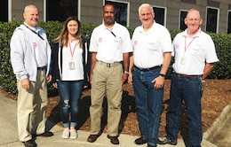 usace new york and wilmington staff pictured outside the joint field office in raleigh north