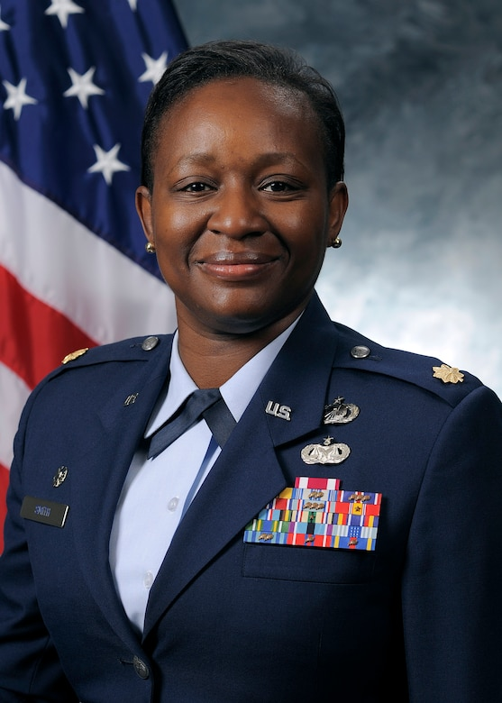 Maj. Latoya Smith, 50th Comptroller Squadron commander. (Courtesy photo)