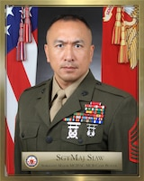 Sergeant Major Peter A. Siaw, MCIPAC - MCB Camp Butler Sergeant Major