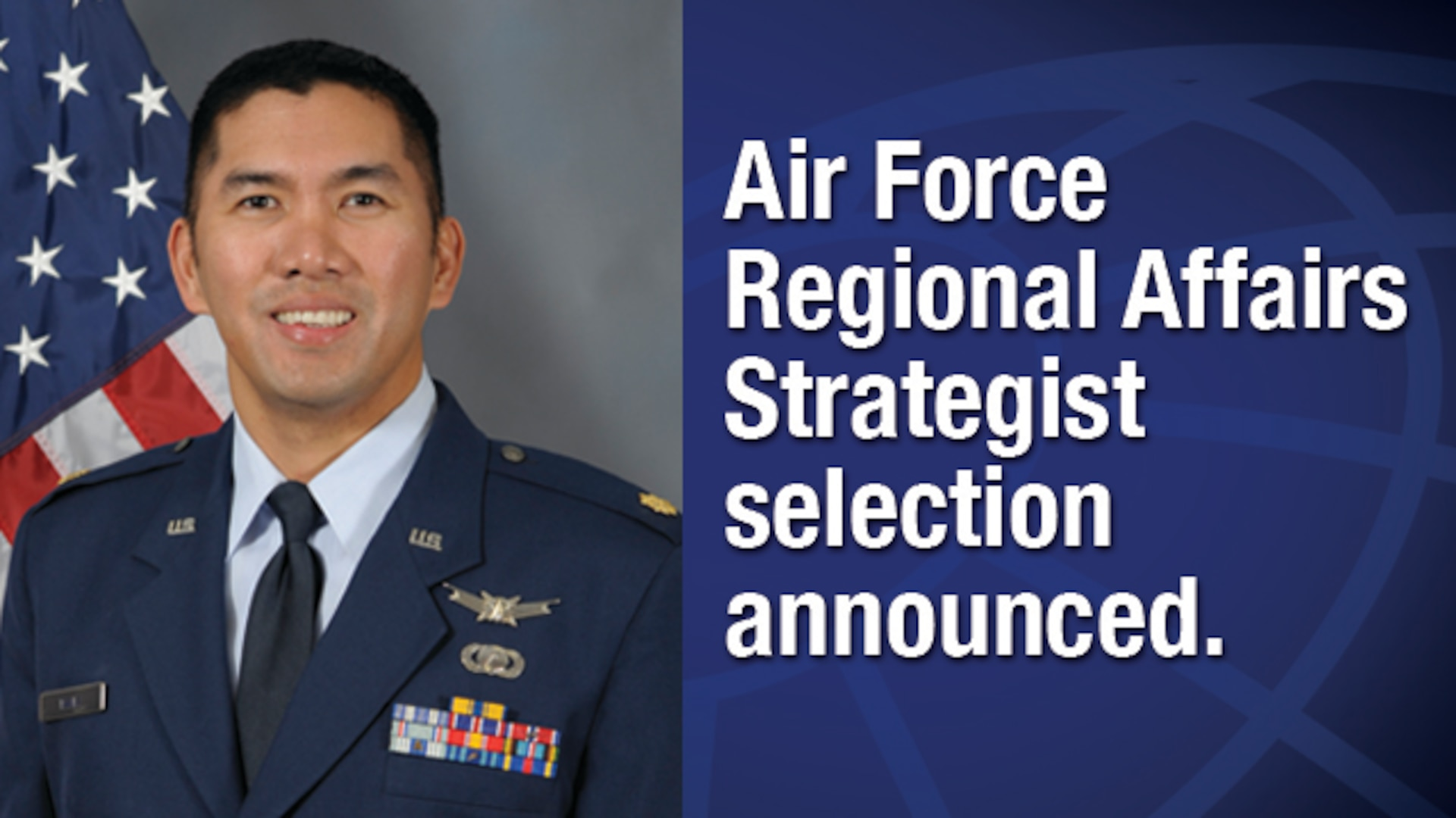 DCMA Lockheed Martin Orlando employee selected for immersive Air Force Regional Affairs Strategist program.