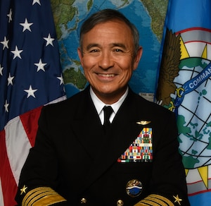 Commander, U.S. Pacific Command, Admiral Harry B. Harris, Jr. U.S. Navy