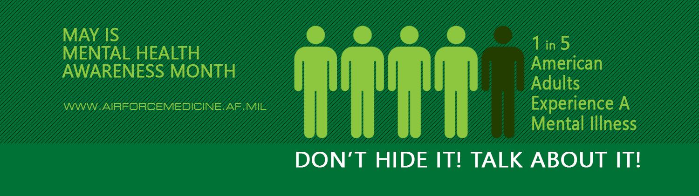 Mental Health Awareness Fb Banner