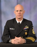 Master Chief Derek G. Gruell, Naval Nuclear Power Training Command, Charleston SC