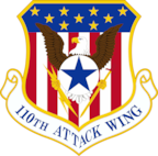 110th Attack Wing Patch