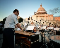 The 2017 Summer Concert Series begins at the U.S. Capitol on Tuesday, June 6, 2017. All concerts begin at 8 p.m. and are subject to cancellation due to weather. (Photo by Staff Sgt. Christopher Muncy)