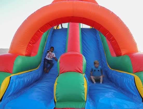 Image result for inflatable rides