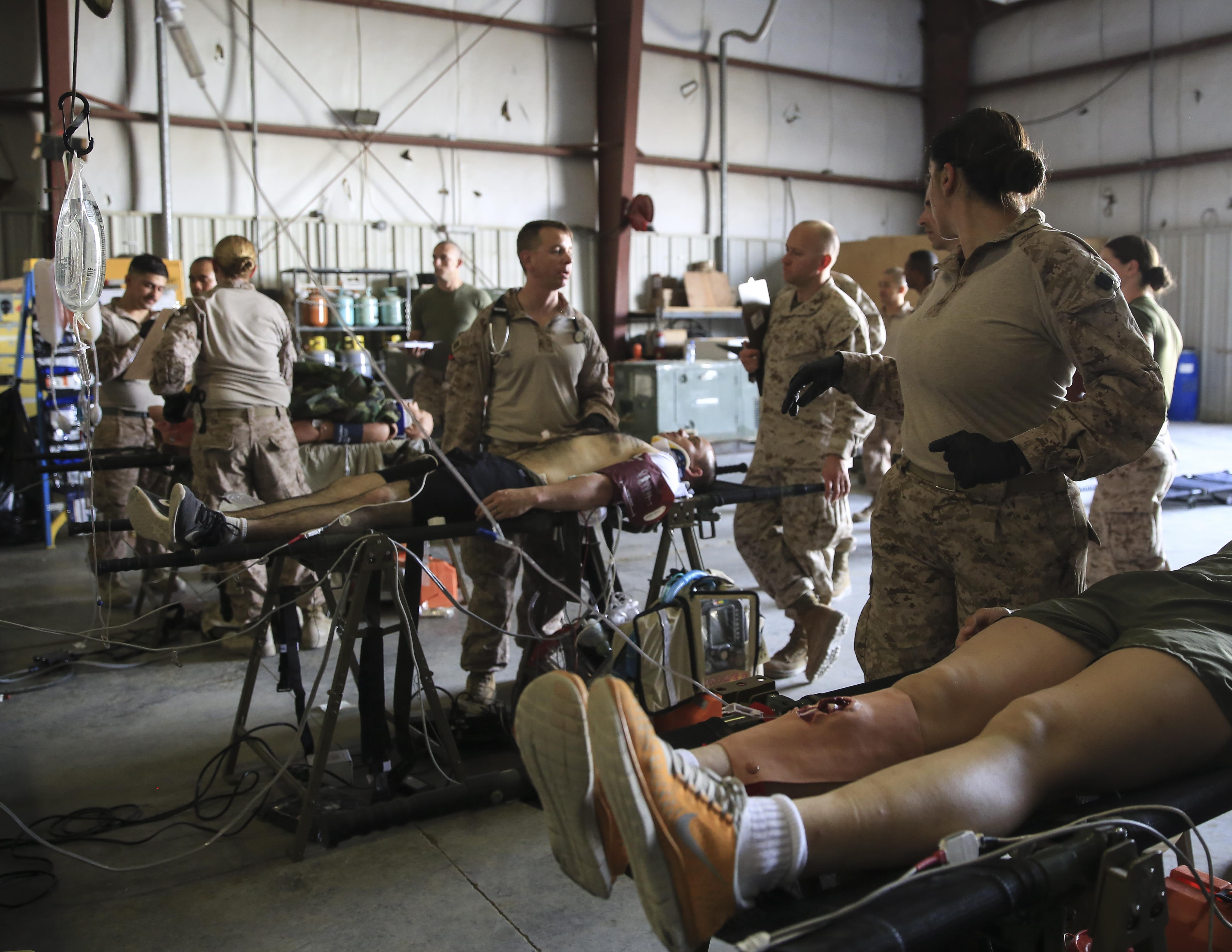 SPMAGTF-CR-CC Rehearses Emergency Medicine Capabilities